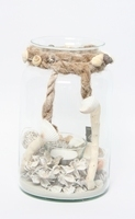 Arrangement Aerial Candy Jar met schelpen