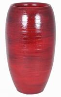 Keramieken vaas Stan rood