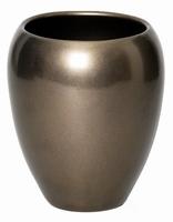 Keramieken vaas Rian brons in 2 afmetingen