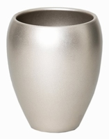 Keramieken vaas Rian champagne 16 cm