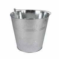 Zinken emmer zink 10,3 cm