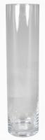 Cilinder vaas glas Ø 13 cm met een hoogte van 60 cm