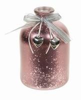 Bottle Dalis metallic red
