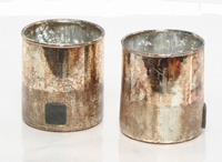 Cilinder Oxidise copper 9 cm MAR10