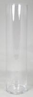 Cilinder vaas glas Ø 15 cm met een hoogte van 60 cm