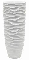 Plantenbak Luxe Lite Glossy Sea white 91 cm
