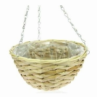 Hanging basket corn leaf naturel 35 cm