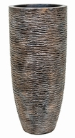Vaas Wrinkle bronze 75 cm Luxe Lite