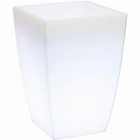 LED Plantenbak Lumenio konisch LED kunststof
