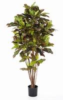 Kunstplant Croton excellent vertakt 120 cm