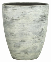 Keramieken vaas Dick cement streep 38,5 cm