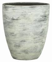 Keramieken vaas Dick cement streep 50 cm