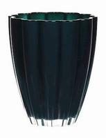 Glaspot gekleurd grey petrol