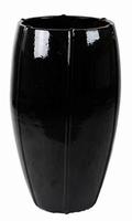 Keramieken vaas zwart glans Couple Moda in 2 afmetingen