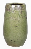 Keramieken vaas Lynn groen 35 cm
