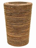 Plantenbak Honey gemaakt van gevlochten touw 65 cm