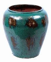 Keramieken bloempot Mystic Blue Ø 76 cm
