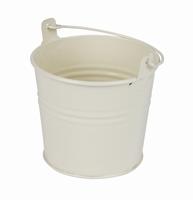 Zinken emmertje crème glans Ø 10,3 cm