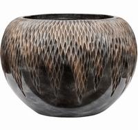 Plantenbak Universe Comet globe bronze 45 cm Luxe Lite