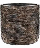 Plantenbak Universe Wrinkle straight couple bronze 40 cm