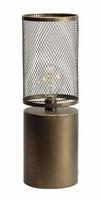 Metalen lantaarn Ijsland met LED verlichtig