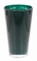 Glaspot gekleurd hoog grey petrol heavy glas