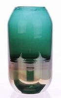 Vaas van glas Tonard luster groen