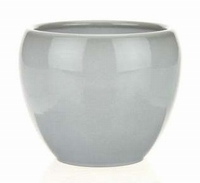Keramieken bloempot Bowl stone in 3 afmetingen