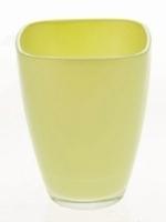 Glaspot gekleurd anijs en hemlock groen heavy glas