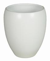Keramieken vaas Rian mat wit in meerdere afmetingen