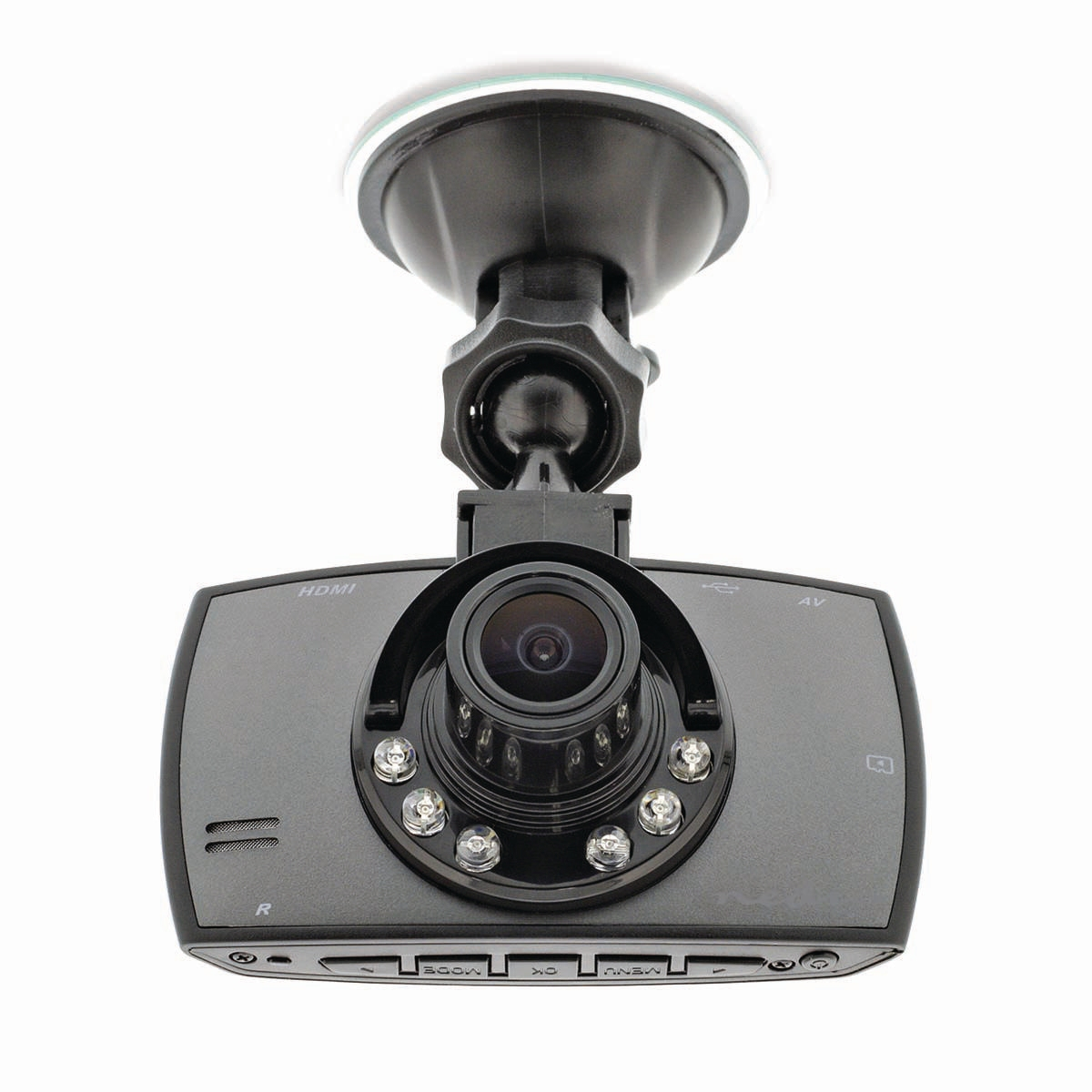 "Dashcam Full-HD 1080p 2.7"" 120° zichthoek"