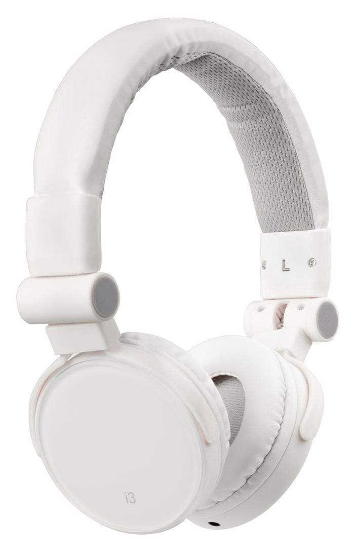 Headset On-Ear 3.5 mm Ingebouwde Microfoon Wit