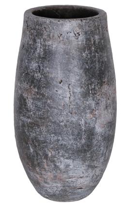 Keramieken vaas Amber Earth 33 cm